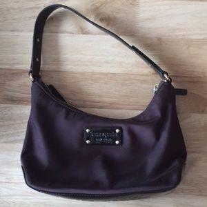 Kate Spade New York Dark Purple Small Shoulder Bag